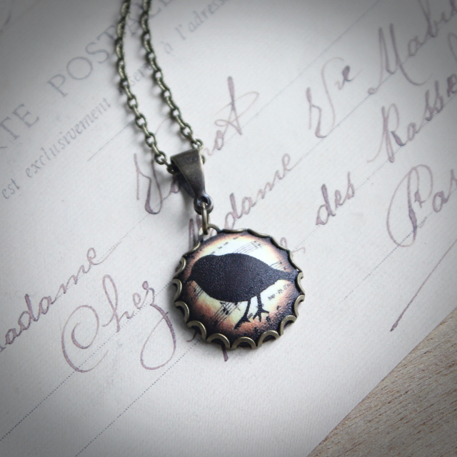 Providence Sparrow Necklace