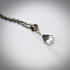 Vienna Crystal Necklace in Champagne