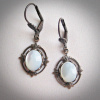 Small Mother of Pearl Earrings