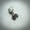 Petite Faceted Black Onyx Earrings