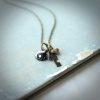 "Yin Yang Charm Necklace ""Balance"""